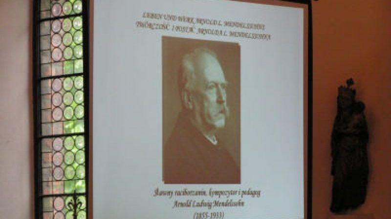 Sympozjum o Mendelssohnnie