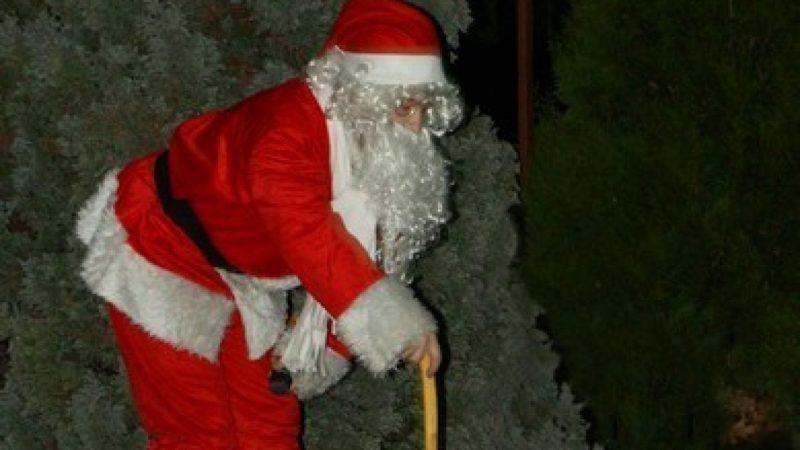 Show z Mikołajem na lodowisku