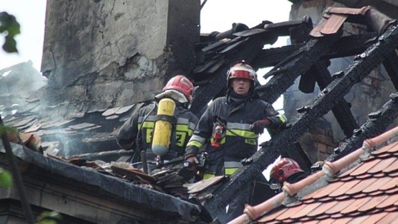 Pożar na ulicy Waryńskiego