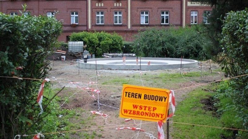 Postęp prac na placu Jagiełły