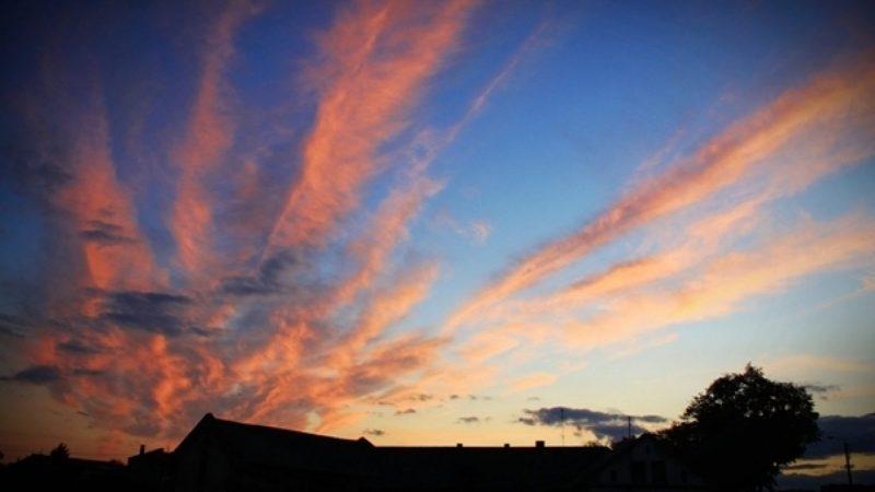 Niebo nad Raciborzem