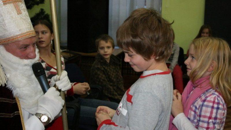 Mikołaj u dzieci siostry Antoniny