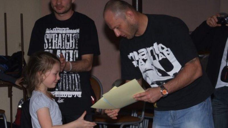 Mini turniej ju-jitsu w Krzanowicach