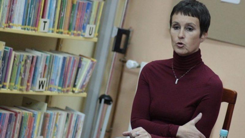 Tanya Valko gościła w bibliotece
