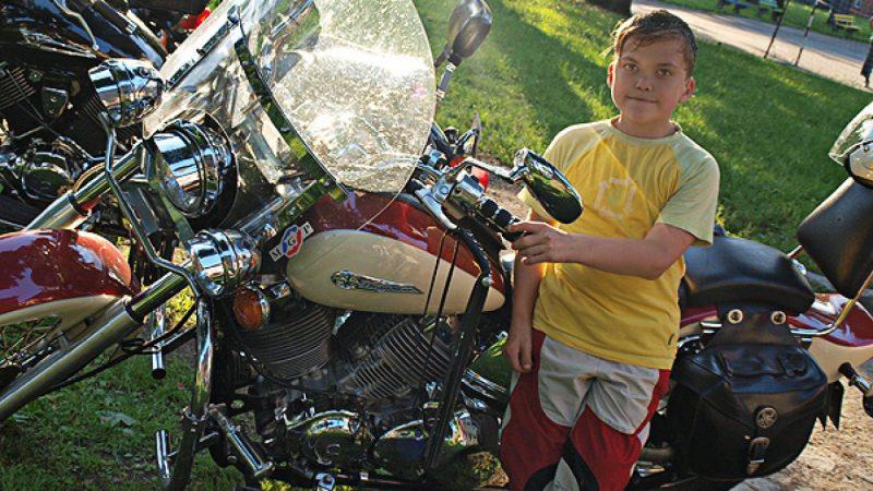 Festyn motocyklowy dla dzieci z Białorusi