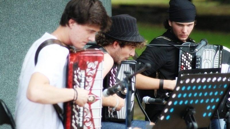 Trio Akordeonowe w Parku Roth
