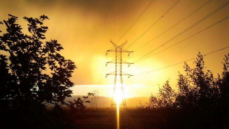 Zachód słońca nad Raciborzem