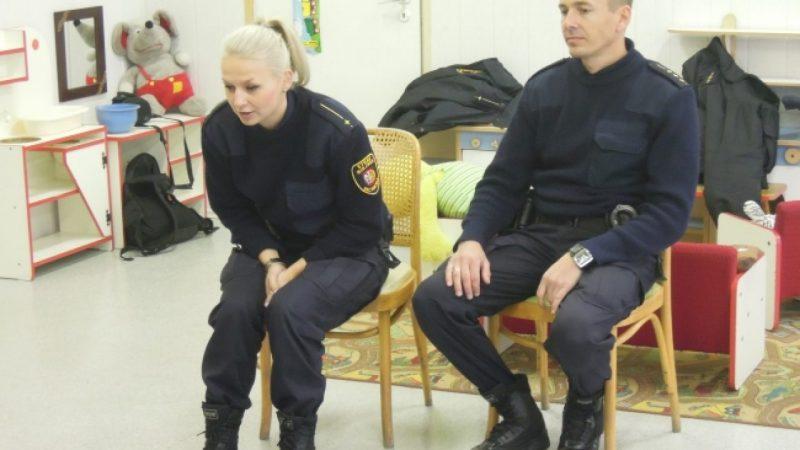 Odwiedziny Straży Miejskiej w Przedszkolu nr 26 w Raciborzu