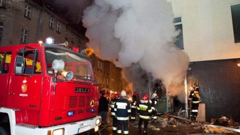 Pożar w klubie Brooklyn w Raciborzu