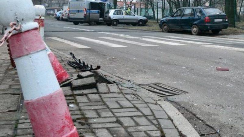 Kolizja na Słowackiego