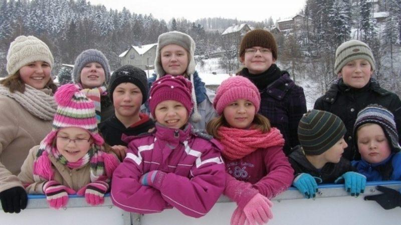 Młodzi Krzanowiczanie w Brennej