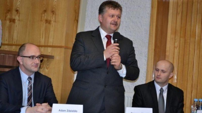 Wiceminister Adam Ździebło w Krzyżanowicach