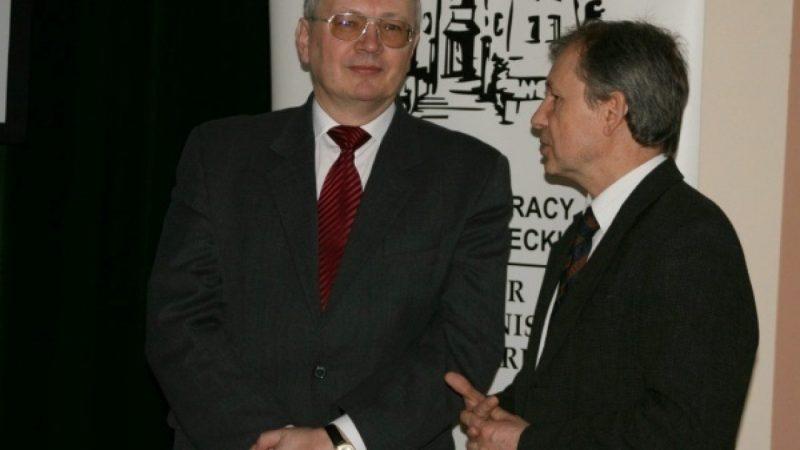 Spotkanie z prof. Grzegorzem Januszem w Łubowicach