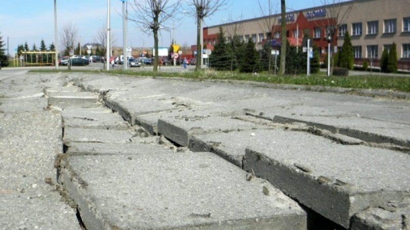 10 najbardziej zniszczonych chodników w Raciborzu