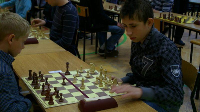 Turniej szachowy w SP nr 13 w Raciborzu