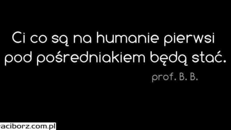 Najlepsze cytaty nauczycieli II L.O.