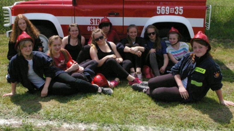 Młodzi strażacy rywalizowali w Brzeziu