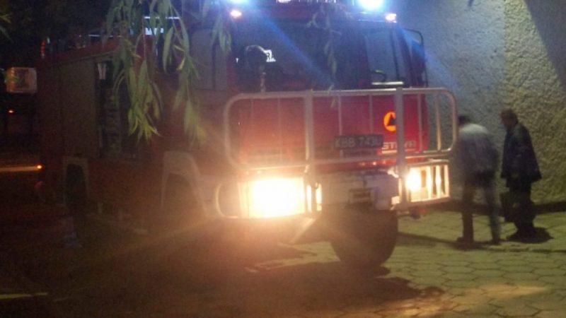 Nocna akcja straży pożarnej na Odpoczynkowej