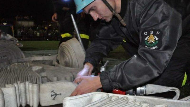 Nocne zawody strażackie w Bolesławiu