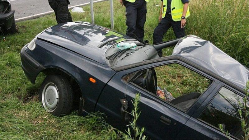 Groźny wypadek na DW 919