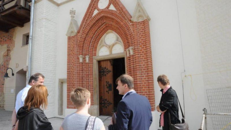 Zamkowa kaplica odzyskała blask