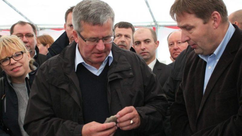 Prezydent Bronisław Komorowski w Raciborzu