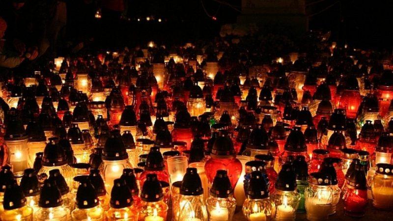 Cmentarz Jeruzalem nocą...