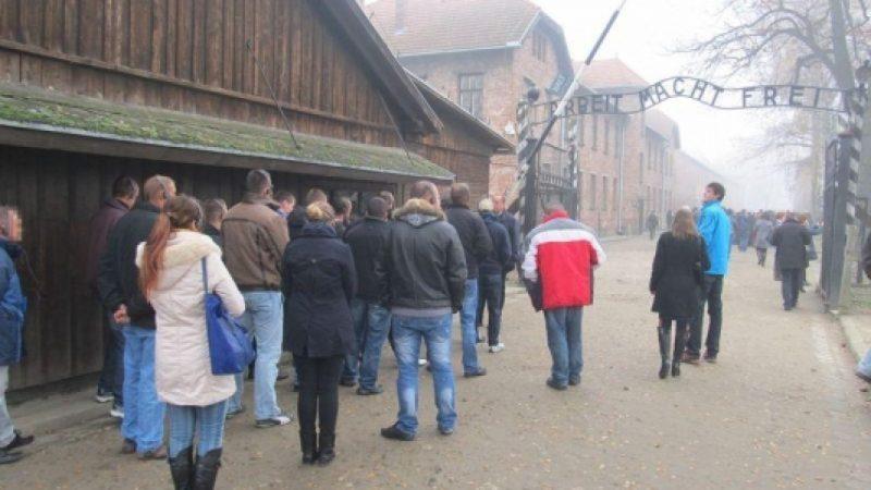 Więźniowie z Raciborza w Auschwitz