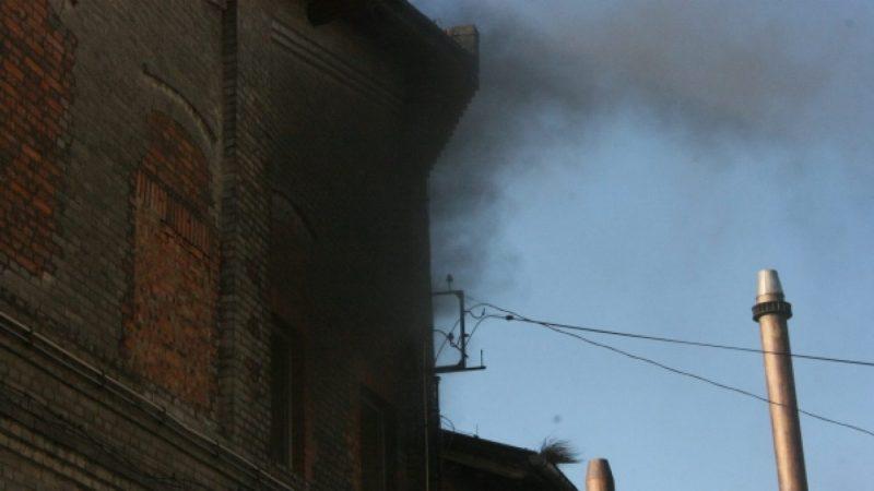 EMA Brzezie w płomieniach