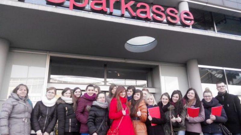 Uczennice ZSE w Niemczech