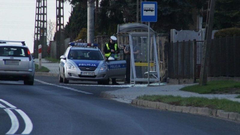 Bieńkowice: ciężarówka zniszczyła przystanek