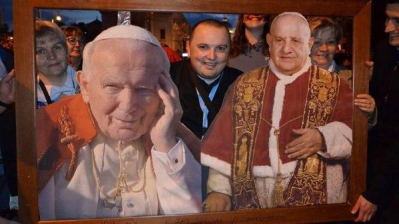 Pielgrzymi z Raciborza na kanonizacji Jana Pawła II