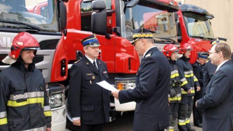 Fundusz wspiera Państwową Straż Pożarną województwa śląskiego