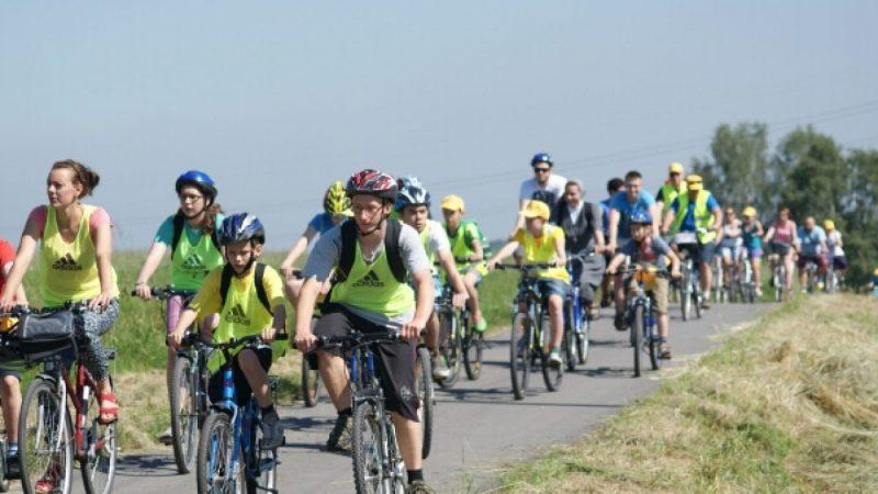Rajd rowerowy w Kobyli