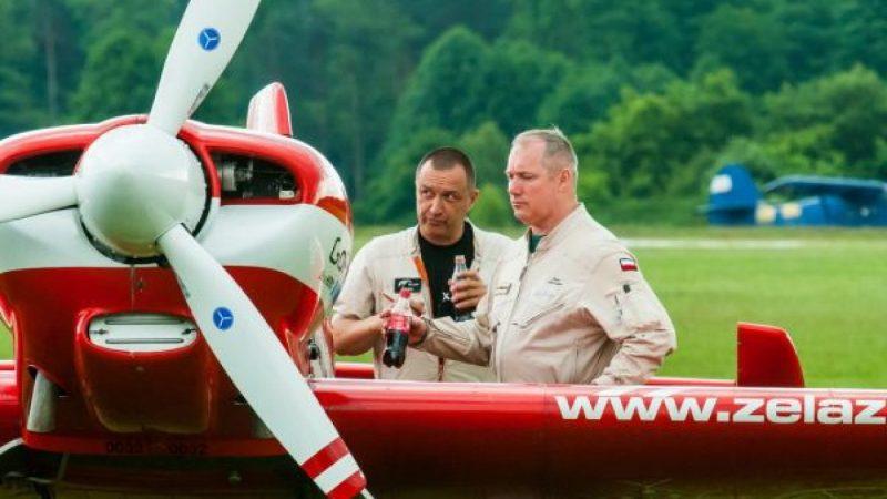 Podniebne akrobacje Rybnickiego Aeroklubu