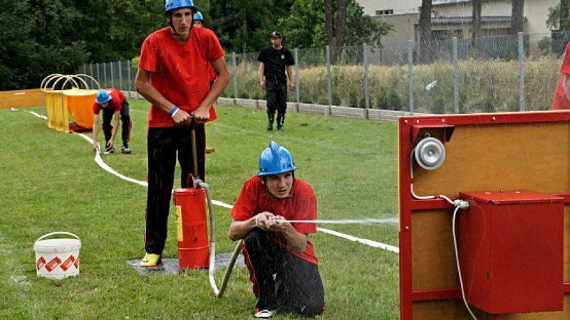 Młodzieżowe drużyny OSP rywalizowały o puchar starosty