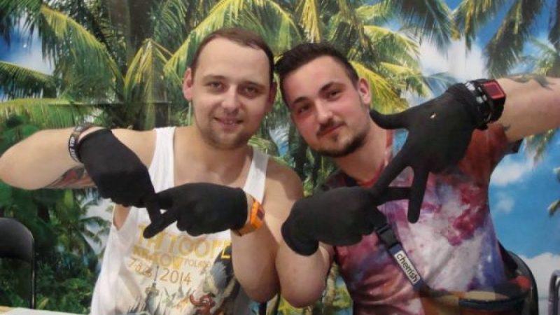 Raciborska wytwórnia rowerów na konwencji tatuażu w Krakowie