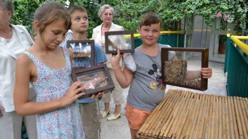 Wycieczka dzieci z Kuźni do palmiarni