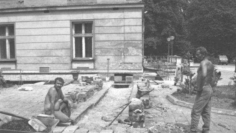 Pałac w Wojnowicach przed remontem