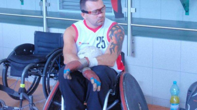 Zgrupowanie rugby na wózkach w Arena Rafako