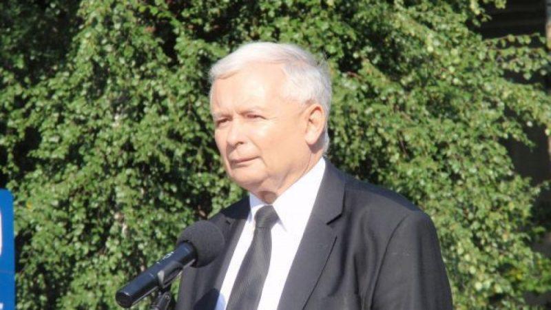 Jarosław Kaczyński w Rybniku