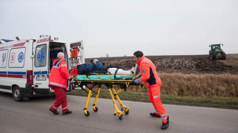 Wypadek na trasie Racibórz-Samborowice