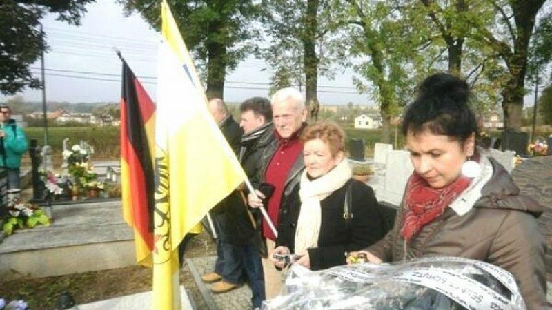 Uroczystości na cmentarzu w Krzanowicach