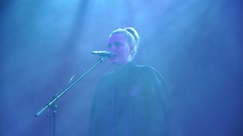 Katarzyna Nosowska w rockowym koncercie