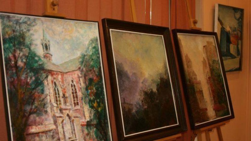 Wystawa malarstwa Mariana Chmieleckiego