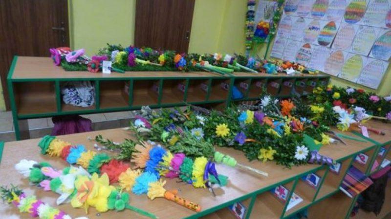 Przedszkole w Nędzy wybrało najpiękniejsze Wielkanocne Palmy