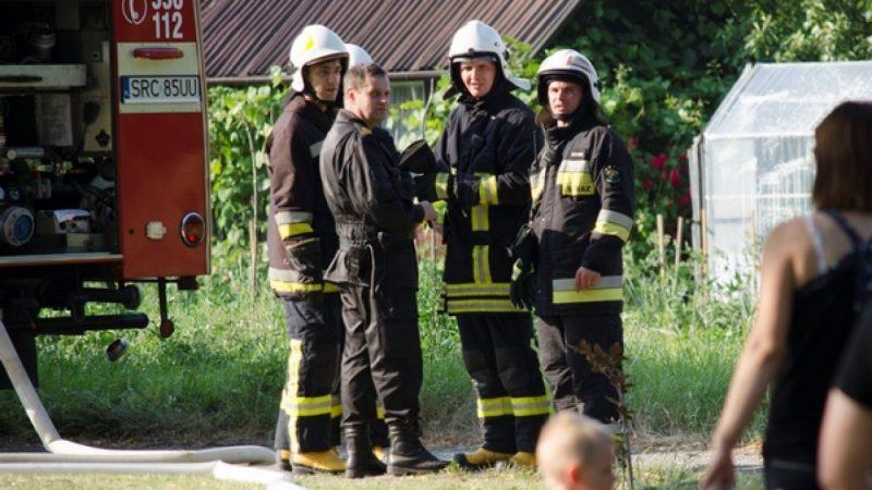 Gminne ćwiczenia strażackie w Wojnowicach