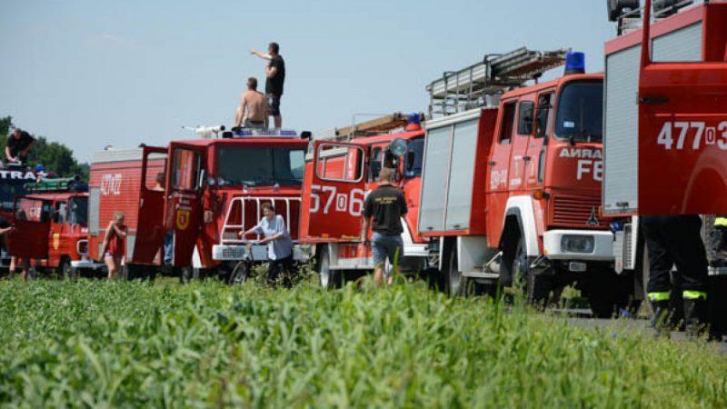 VII zlot pojazdów pożarniczych
