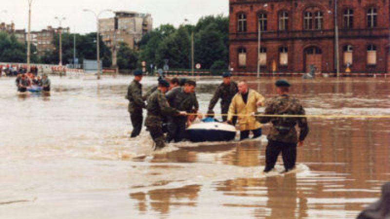 Powódź tysiąclecia - 1997 Racibórz