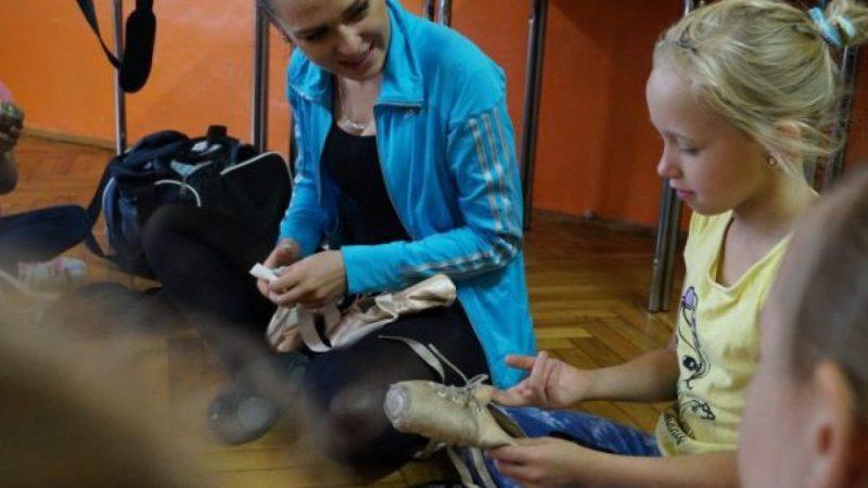 W Gminnym Centrum Kultury w Nędzy trwają lekcje baletu